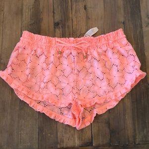 Victoria's Secret Swim Peach Short•szM•NWT